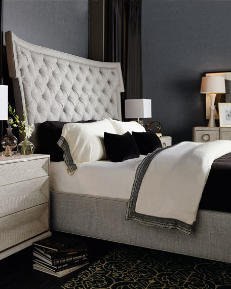 Bernhardt Damonica Tufted Queen Bed