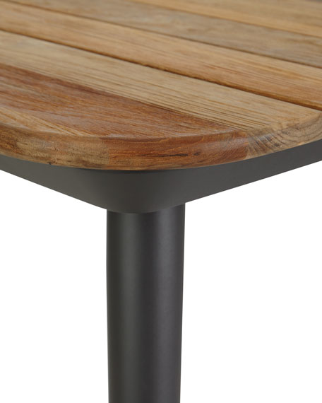 Darrow Recycle Teak Dining Table