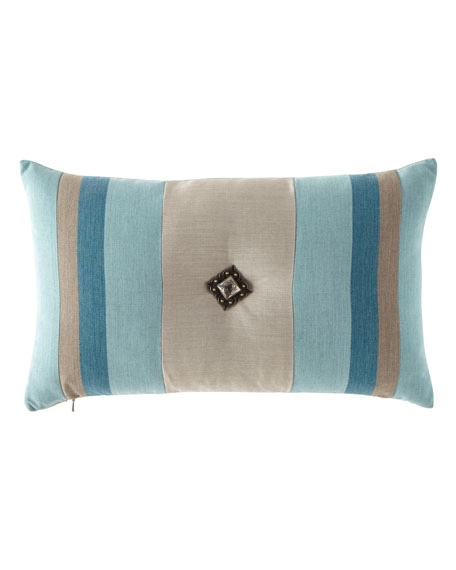 Elaine Smith Colorblock Lagoon Pillow, 12