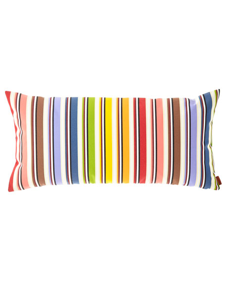 "Rainbow Outdoor Cushion, 12"" x 24"""