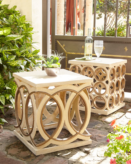 Circles Garden Seat