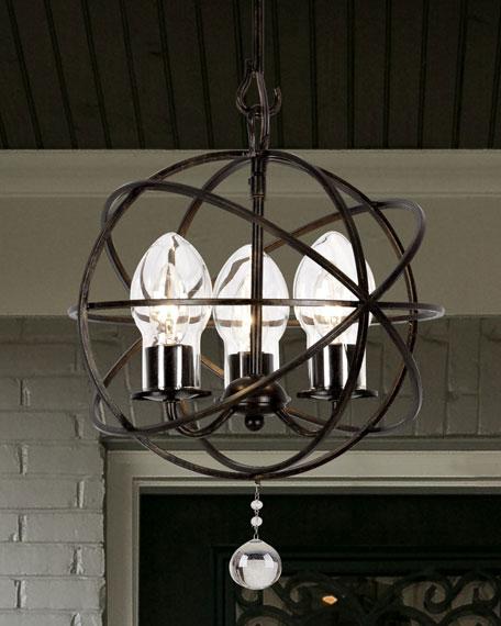 Solaris 3 light mini chandelier neiman marcus solaris 3 light mini chandelier aloadofball Images