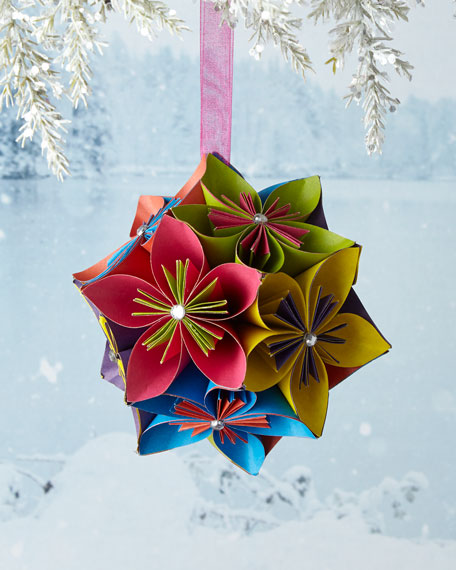 Sparkling Flowers Ornament