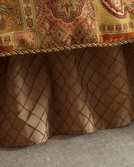 Austin Horn Classics Diamond Stitched King Dust Skirt