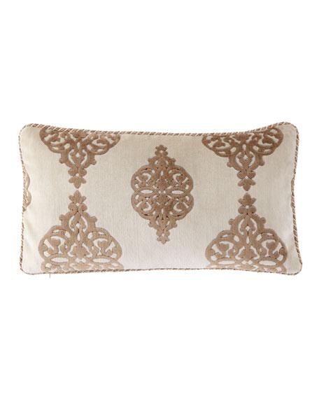"""Versaille Lumbar Pillow, 13"""" x 24"""""""