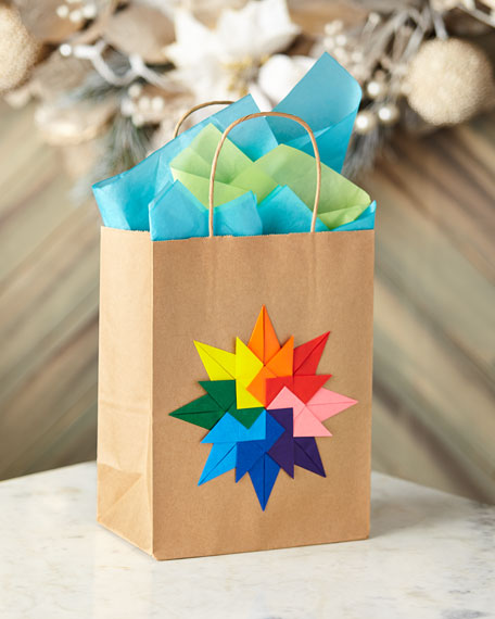 Paper for Water Origami Gift Bag