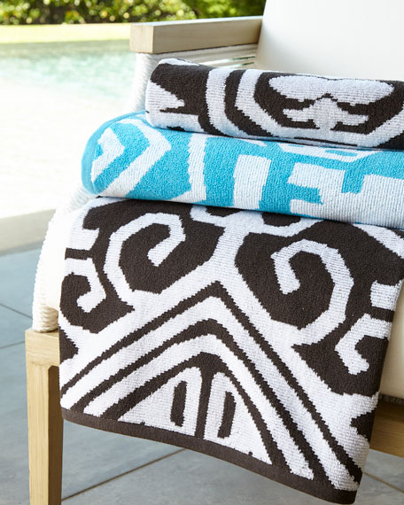 John Robshaw Sandesa Resort Beach Towel