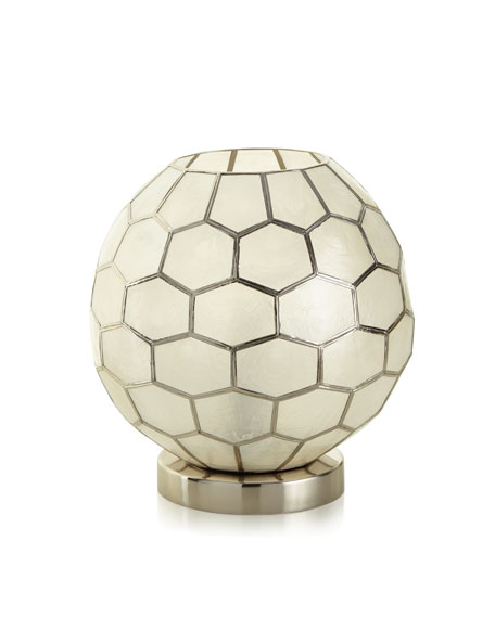 Honeycomb Ambient Light, Silver