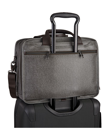 Expandable Organizer Computer Brief, Gray