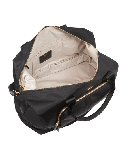 Durban Expandable Duffel Bag Luggage, Black