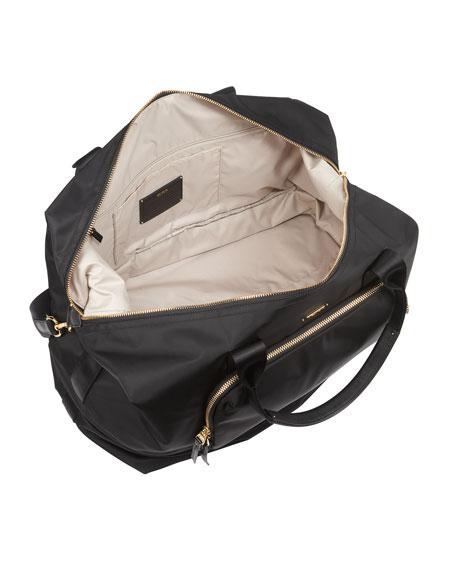 Durban Expandable Duffel Bag Luggage, Black