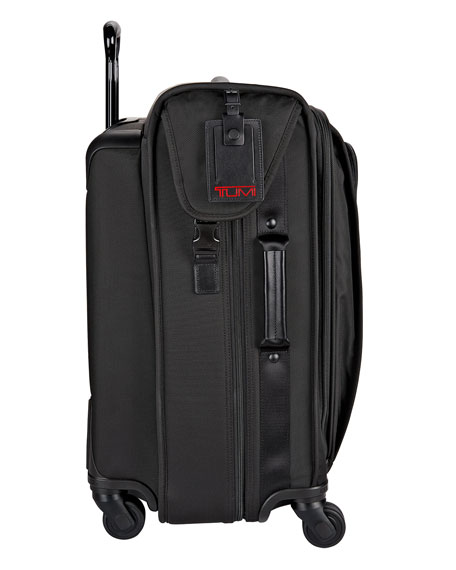 4-Wheel Extended Trip Garment Bag Luggage, Black