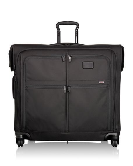 4-Wheel Extended Trip Garment Bag Luggage, Black