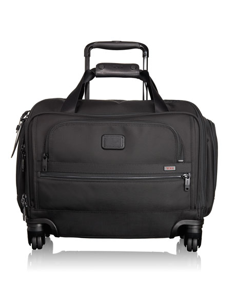 TUMI 4-Wheeled Compact Duffel Bag Luggage, Black