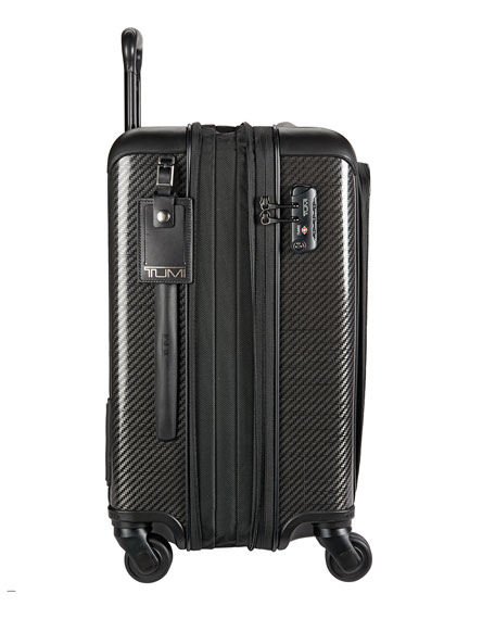 Continental Expandable Carry-On Luggage, Black