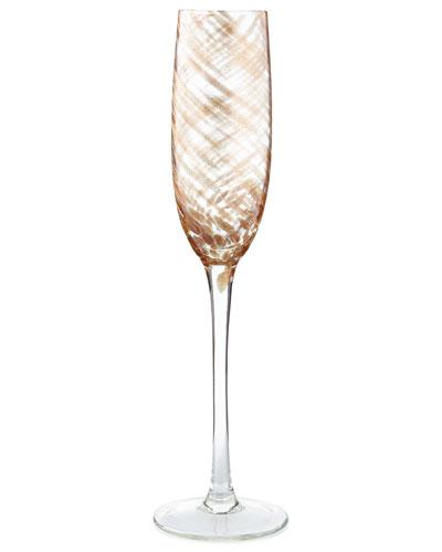 Misty Champagne Flutes, Set of 4