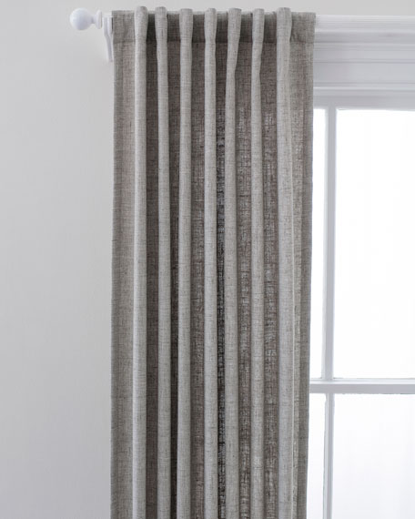 "Lock Indoor/Outdoor Curtain Panel, 48"" x 96"""