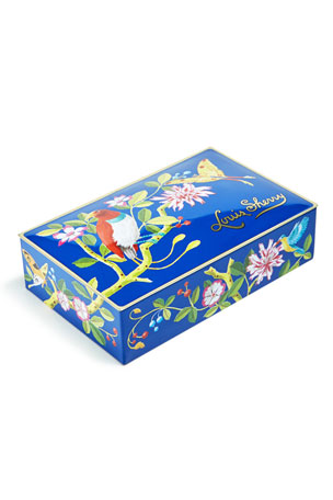 Louis Sherry Bird and Butterfly 12-Piece Assorted Chocolate Truffle Tin
