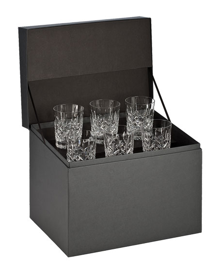Lismore Double Old-Fashioneds, Set of 6