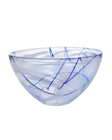 Orrefors Kosta Boda Contrast Medium Bowl, White