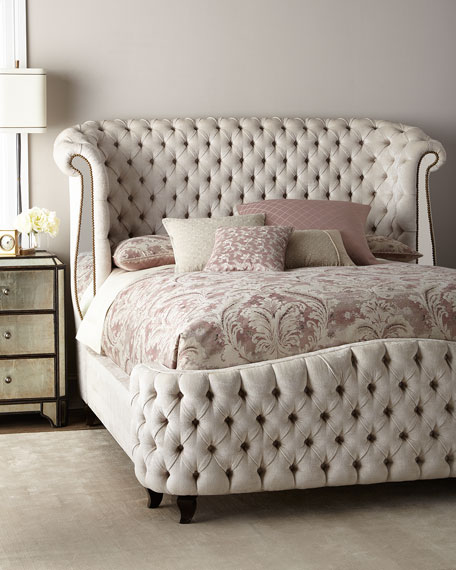 Haute House Bridgitte Queen Bed and Matching Items