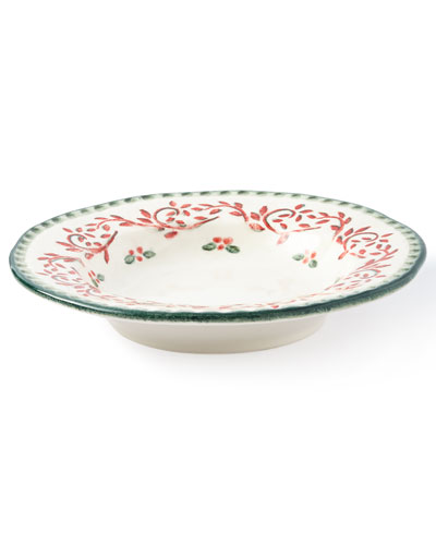 Holiday Soup Plates, Set of 4