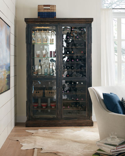 Ethan Wine U0026 Bar Cabinet