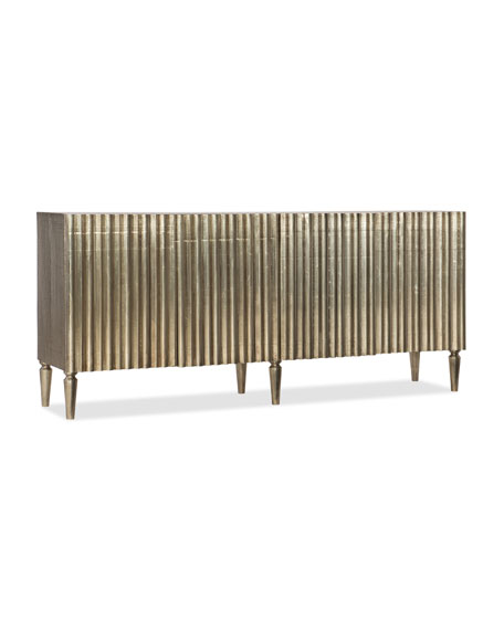 Riley Silver Wrapped Console