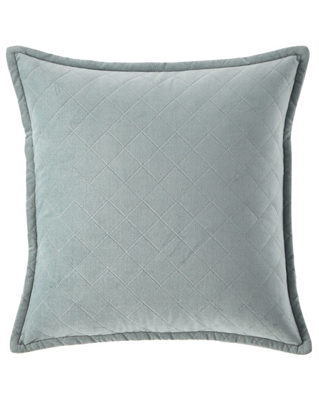 Austin Horn Classics Elite Velvet Diamond Pillow, 18