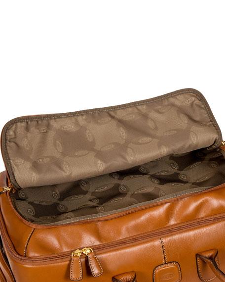 "Life Pelle 21"" Rolling Duffle Bag  Luggage"