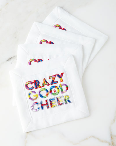 Crazy Good Cheer Cocktail Napkins