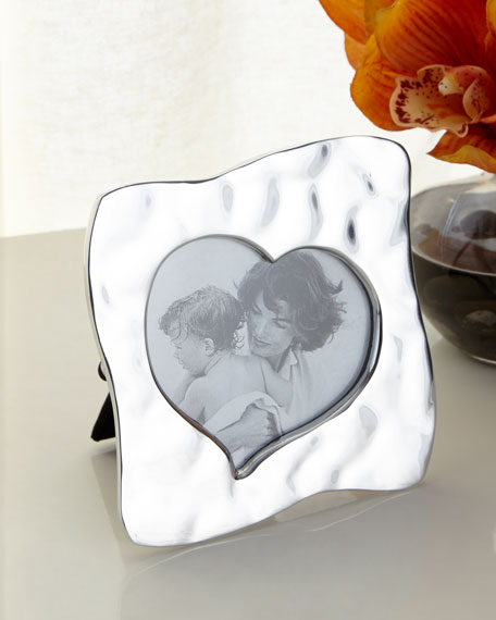 "Giftables Curved Heart Frame, 5""Sq."