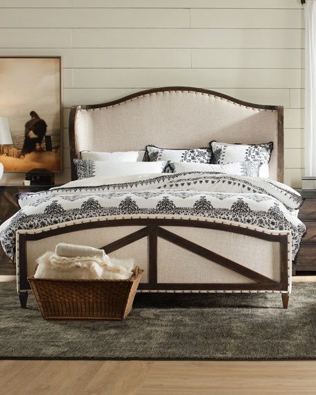 Analy Upholstered California King Bed