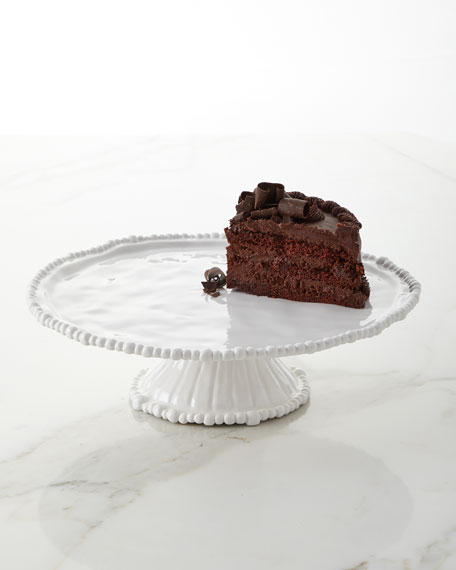 Beatriz Ball Vida Alegria Pedestal Cake Plate