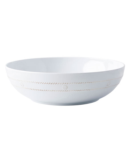 Berry & Thread Melamine Whitewash Serving Bowl