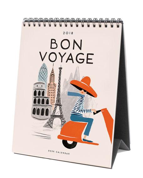 Rifle Paper Co Bon Voyage Desk Calendar