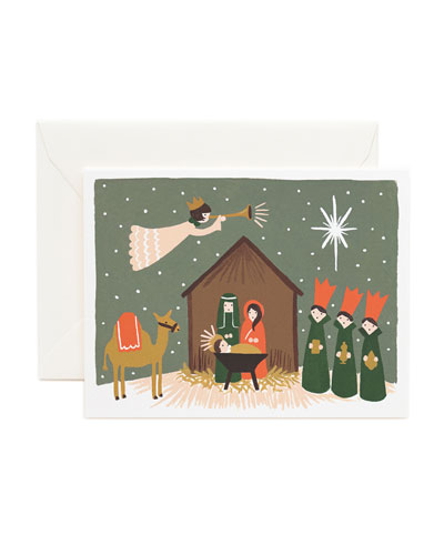 Nativity Boxed Card Set, Set of 8