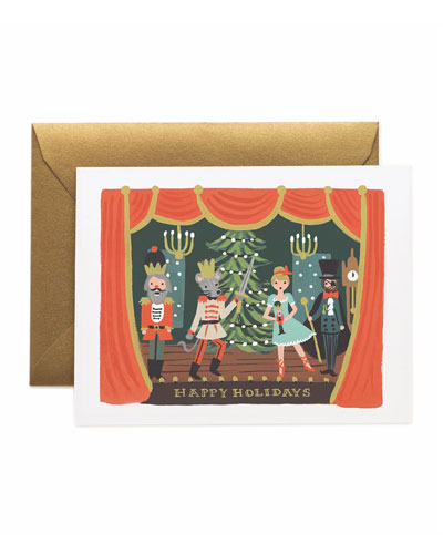 Nutcracker Scene Boxed Card Set