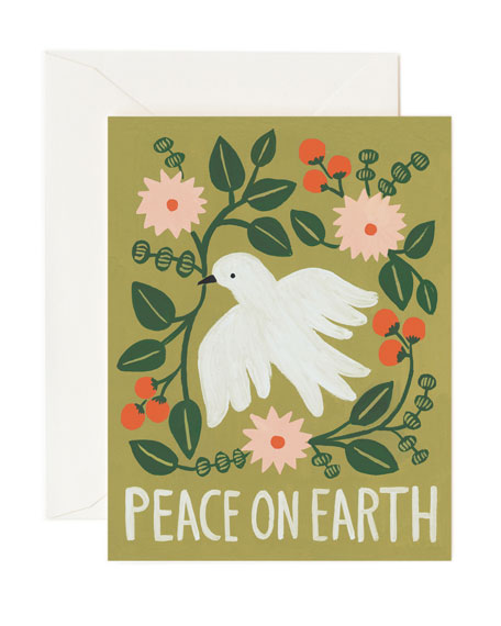 Rifle Paper Co Peace on Earth Boxed Card