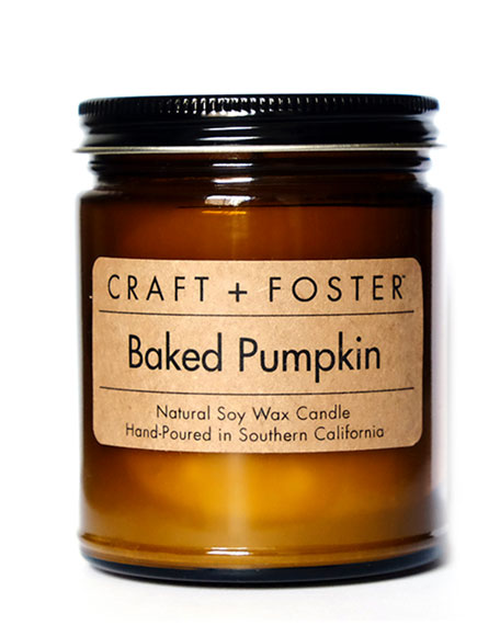 Craft + Foster Limited Edition Baked Pumpkin Candle,