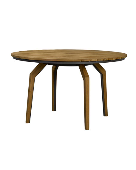 Lane Venture Cote d'Azur Round Dining Table and