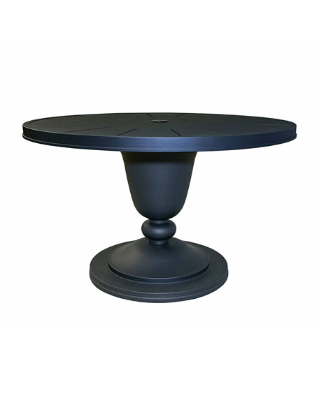 Lane Venture Winterthur Round Dining Table and Matching