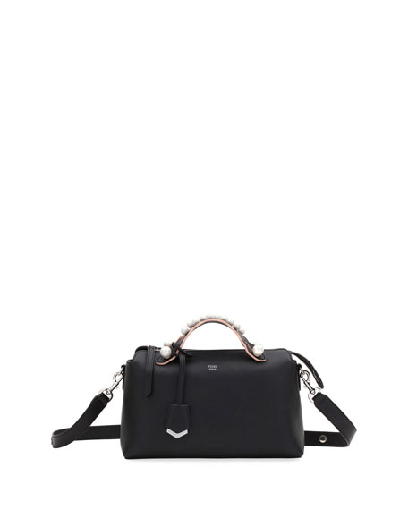 Fendi By The Way Medium Leather Satchel Bag