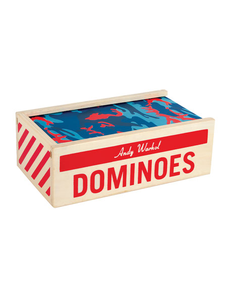 Hachette Book Group Andy Warhol Wooden Dominoes