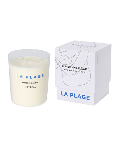 La Plage Scented Candle, 9.9 oz. / 280 g