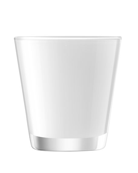 Asher Tumblers, Set of 6, White