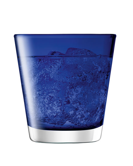 Asher Tumbler, Set of 6, Cobalt
