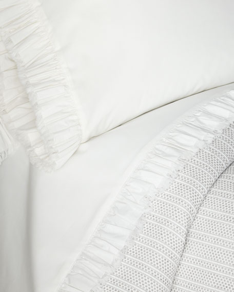 Pine Cone Hill Laundered Ruffle Standard Pillowcase