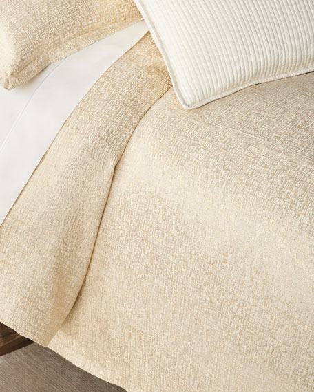Lili Alessandra Sophia King Linen Duvet and Matching