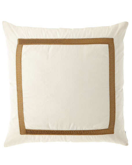 "Caesar Decorative Pillow, 24""Sq."